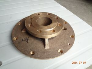 Sand Casting and Machined Bronze Pump Cover pictures & photos