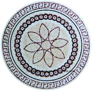 Customized Mosaic Flower Round Pattern Ma-Jl803y pictures & photos