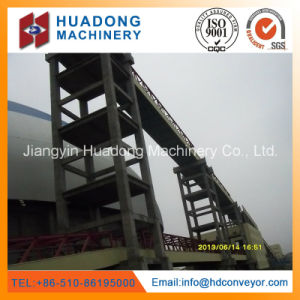 High Angle Downward Belt Conveyor with Rubber Belt pictures & photos