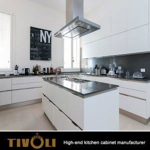 Tivoli Customized High Quality Glossy Lacquer Kitchen Cabinet for Apartment Australia pictures & photos