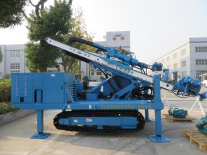 High Impact Frequency Anchor Drilling Rig Hydraulic System High Power Virbration Foundation pictures & photos