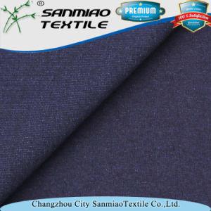 Indigo Heavy Knitting Spandex Single Jersey Fabric pictures & photos