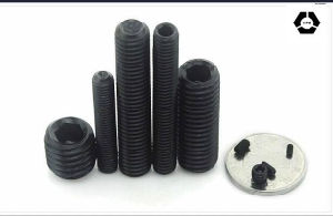 DIN916 L Hexagon Socket Set Screws with Black pictures & photos