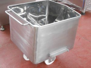 Vegetable Skip / Charging Car SUS 304 Stainless Steel pictures & photos