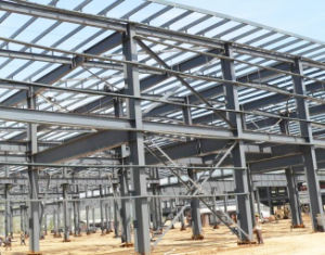 Prefabricated Iron Steel Structure Building for Car Parking pictures & photos