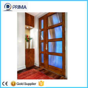 Indoor Contemporary Wooden Doors Design with Painting pictures & photos