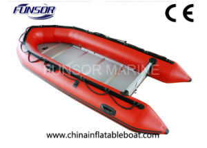 PVC Inflatable Boat with Aluminum Floor (A Series 2.0m-6.0m) pictures & photos