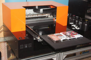New Design 6 Colors Multifunctional A3 Size Desktop UV LED Flatbed Printer pictures & photos