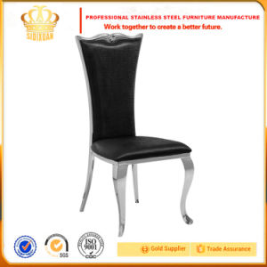 Whole Sales Fabric Golden Wedding Stainless Steel Chair Made in China pictures & photos