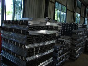 Aluminium Extrusion Tube for Post pictures & photos