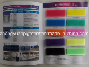 Colorant for Flexible PU Foam Sponge Tdi Polyether Color Paste pictures & photos