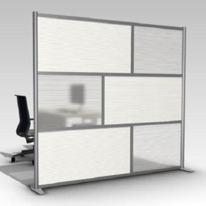 Modern Room Divider Mobile Office Partition Glass Wall (SZ-WS649) pictures & photos