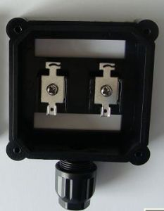 2 Rail 1 Diodes IP67 1output Cable. Junction Box for Solar System pictures & photos