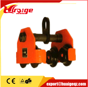 High Quality 0.5-5t Push Geared Trolley pictures & photos