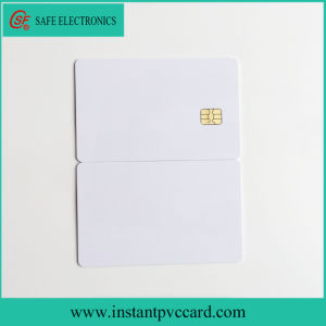 Both Sides Printable Contact Sle4442 Chip IC Card pictures & photos