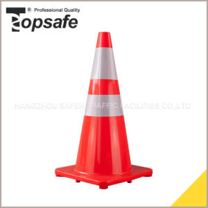 28 Inch Orange Color Traffic Safety PVC Cones pictures & photos