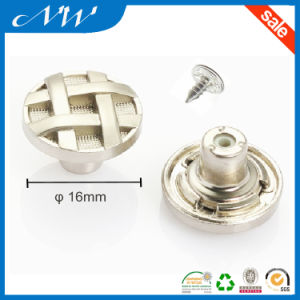 Fashion Metal Buttons Alloy Shank Button Use in Jeans