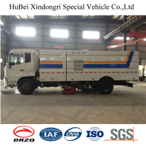 7CBM Dongfeng 16t Road Sweeper Wash Truck Euro4 pictures & photos