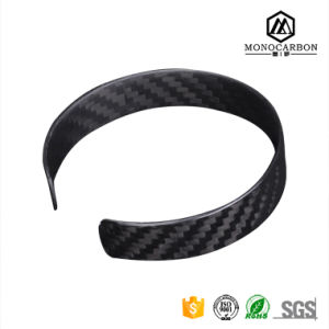 Fashion New Products Carbon Fiber Springs Men Jewelry Bracelet 2017 pictures & photos