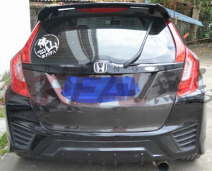 Carbon Fiber Trunk Lid Cover for Honda Jazz Fit 2014 pictures & photos