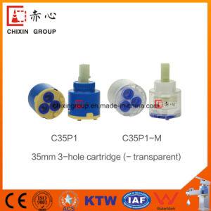35mm Three Ring Faucet Ceramic Cartridge Normal pictures & photos