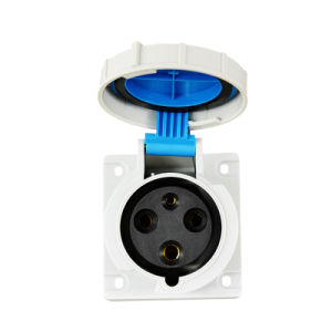 Industrial Flange Panel Mounting Appliance Socket Outlet pictures & photos