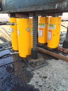 10-500t Long Stroke Double Acting Hydraulic Jacks (DYG630/300) pictures & photos
