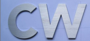 Aluminum Stainless Steel Metal Acrylic Plastic Bronze Solid Architect Building ID Letter pictures & photos