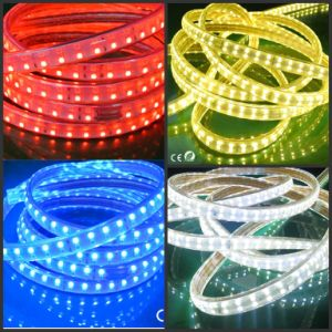 High Lumen 18W Waterproof 220V/120V RGB LED Strip Light Ribbon pictures & photos