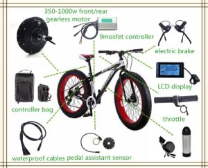 Jb-205-35 Brushless Gearless 48V 1000W E Bike Motor pictures & photos