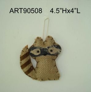 Camo Racoon Christmas Woodland Decoration Ornaments pictures & photos