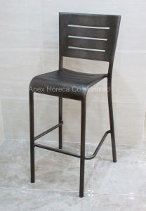 Bistro Bar Stool Outdoor Bar Chair Vintage Aluminum Barstool pictures & photos