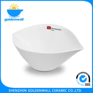 Customized 8.8cm / 14cm /19.4cm /24.5cm White Porcelain Snack Bowl pictures & photos