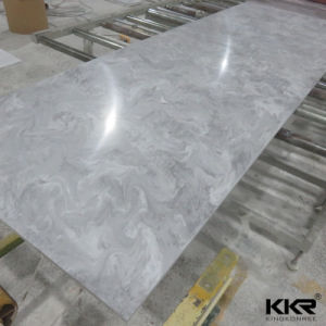 Veining Pattern Solid Surface Slabs for Kitchen Countertop pictures & photos