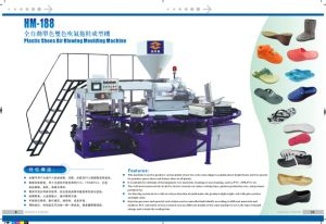 Plastic Air Blowing. Foaming Shoes Making Machine pictures & photos
