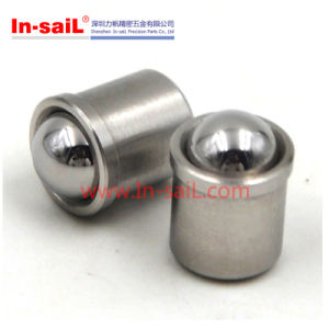 Steel and Stainless Steel Press Fit Ball Plunger pictures & photos