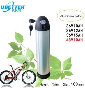 Rechargeable 48V 10ah Lithium Battery Pack for E-Bike pictures & photos