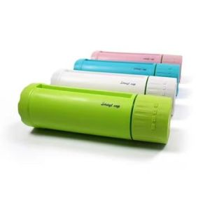 Smart water bottle with Bluetooth speaker, mobile phone holder and power bank pictures & photos