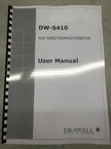 Dw-S410 Nir Spectrophotometer That Used for Lab Qualitative and Quantitative Analysis Instrument pictures & photos