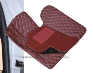 Car Mats 3D Diamond Embroidery PVC Leather XPE Carpet