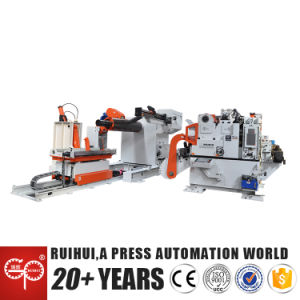 Straightener Machine Easily Move The Material Into Pinch Rollers (MAC4-1600H) pictures & photos
