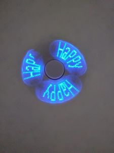 ABS LED Hand Spinner with Customized Words En71 Ce Approved pictures & photos