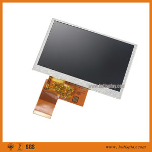Super High Luminance 1000nits 4.3 inch TFT LCD with 16 LEDs pictures & photos