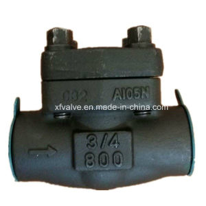 800lb/1500lb/2500lb Forged Steel A105 Thread End NPT Check Valve