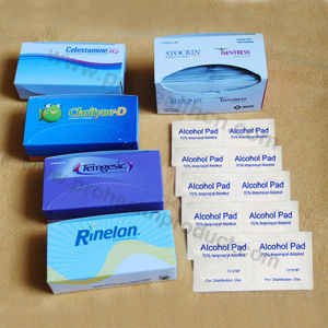 Alcohol Prep Pad with Paper Box (PH739B) pictures & photos