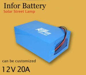 12V 20ah Lithium Battery for Solar System, Street Light pictures & photos