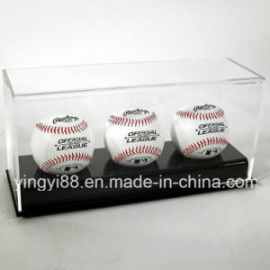 Custom Clear Acrylic Baseball Display Case pictures & photos