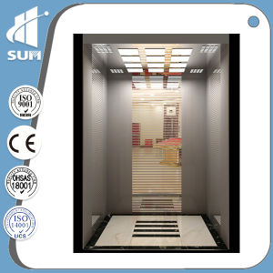 with Handrail Mirror Stainless Steel Passenger Elevator pictures & photos
