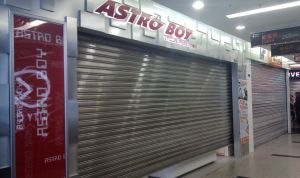 Commercial Galvanized Steel Insulated Security Roller Shutter Doors pictures & photos