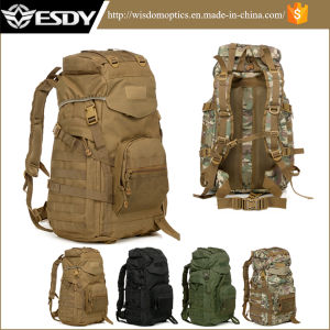 Four Colors 600d Nylon Waterproof Tactical Outdoor Travel Backpack pictures & photos